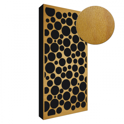 AbFuser Dots WOOD 100x50 10 CM