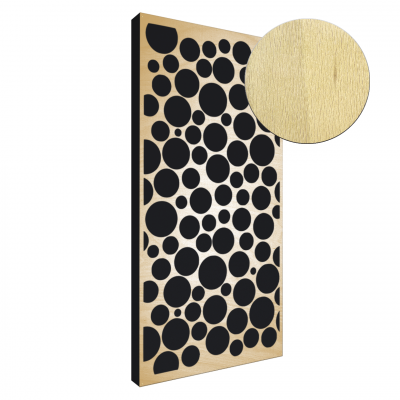 AbFuser Dots WOOD 100x50 5 CM