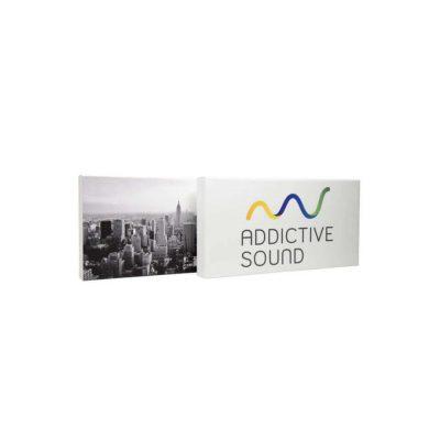 Acoustique image AVEC PROPRES GRAPHIQUES 100x50x10 cm