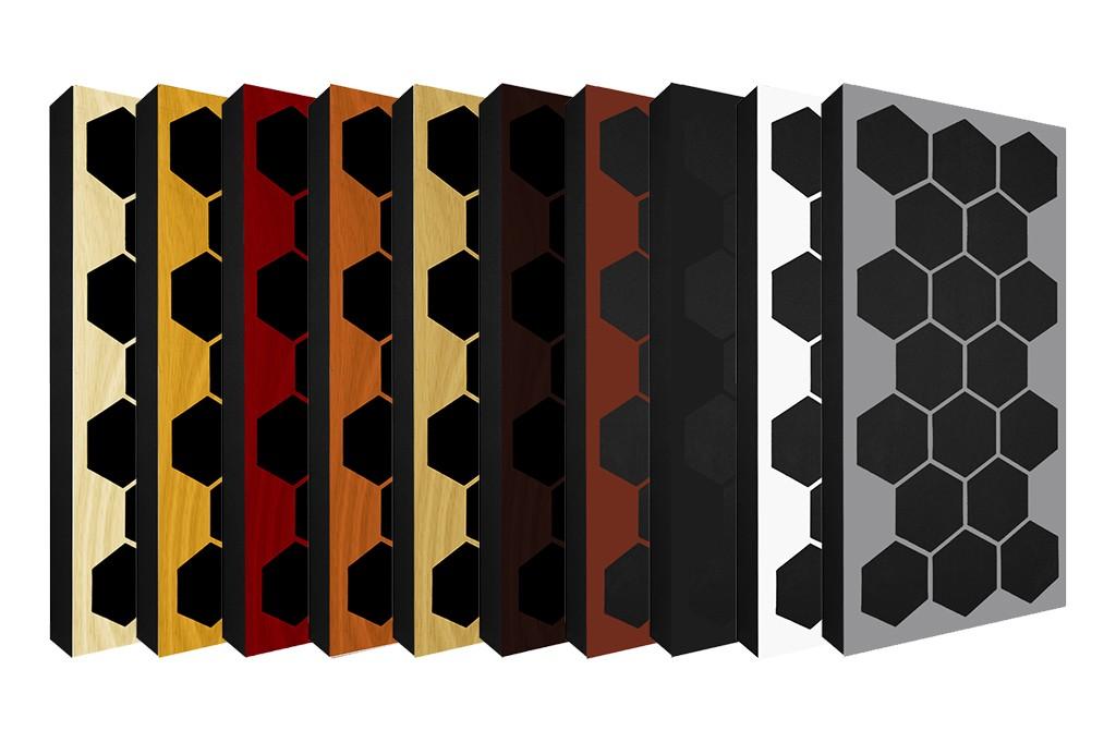 AbFuser Hexagon WOOD 100x50 10 CM