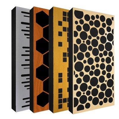 Hybride akustikelemente
